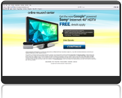 Get The New Sony HDTV For Free!