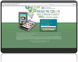Get Two Barnes and Noble Nook Colors For Free!