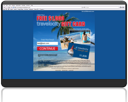 Get a $1000 Travelocity Gift Card For Free!