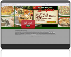 Get a $150 Perkins Restaurant and Bakery Gift Card For Free!