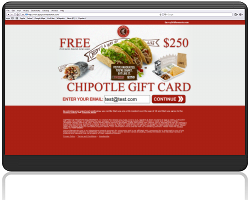 Get a $250 Chipotle Gift Card For Free!