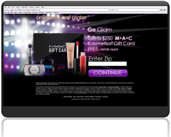 Get a $250 M.A.C Cosmetics Gift Card For Free!