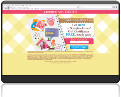 Get a $250 Scrapbook.com Gift Certificate For Free!