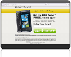 Get a HTC Arrive Windows Phone For Free!