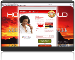 Get a Horizon Gold Credit Card With an Initial $500 Credit Limit!