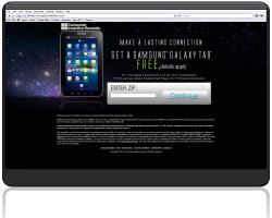 Get a Samsung Galaxy Tab For Free!