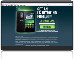 Get an LG Nitro HD For Free!