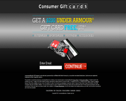 Get a $200 Under Armour Gift Card For Free