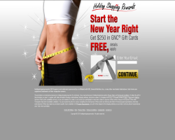 Get a $250 GNC Gift Card For Free