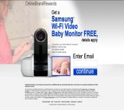 Get a Samsung Wi-Fi Video Baby Monitor For Free!