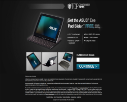 Get an Asus Eee Pad Slider For Free