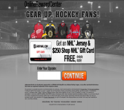 Get an NHL Jersey and $250 Shop.NHL.com Gift Card For Free!