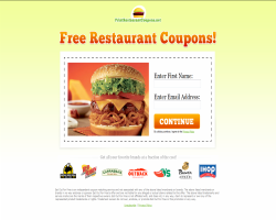 Print Free Restaurant Coupons