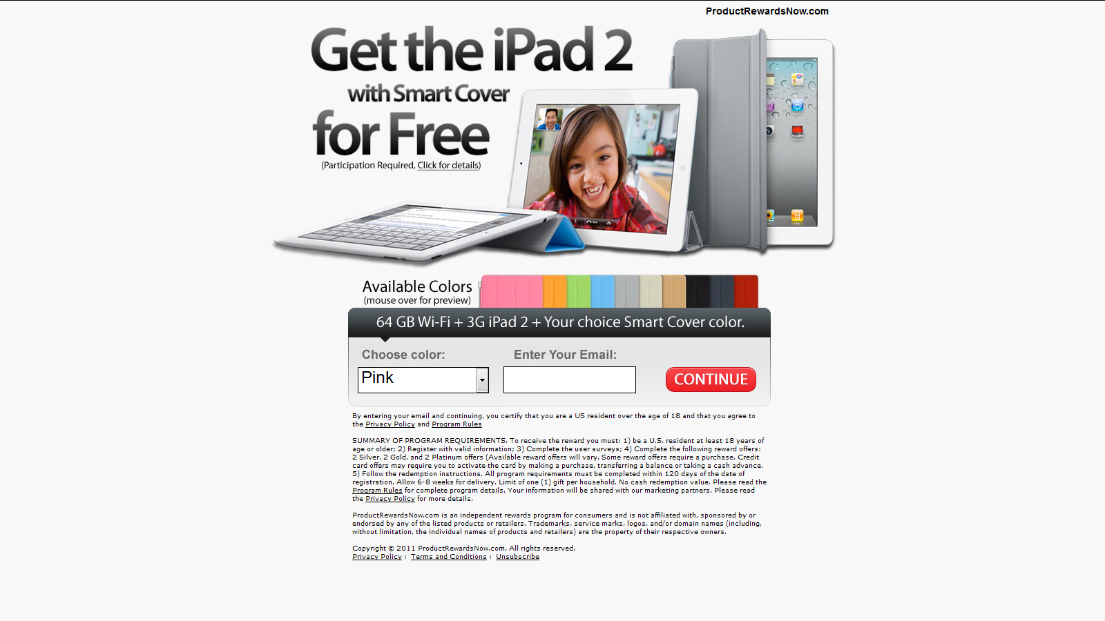 Test and Keep an iPad 2 For Free