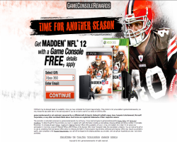 Get Madden NFL 12 With a Game Console For Free