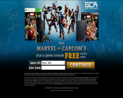Get Marvel vs Capcom 3 and a Game Console For Free