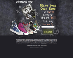 Get a $250 Converse Gift Card For Free