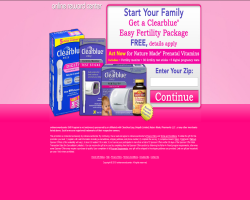 Get a Clearblue Easy Fertility Package For Free