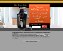 Get a Keurig Special Edition Home Brewing System For Free