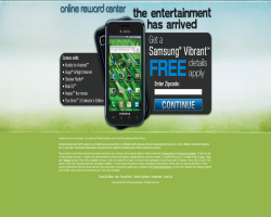Get a Samsung Vibrant For Free