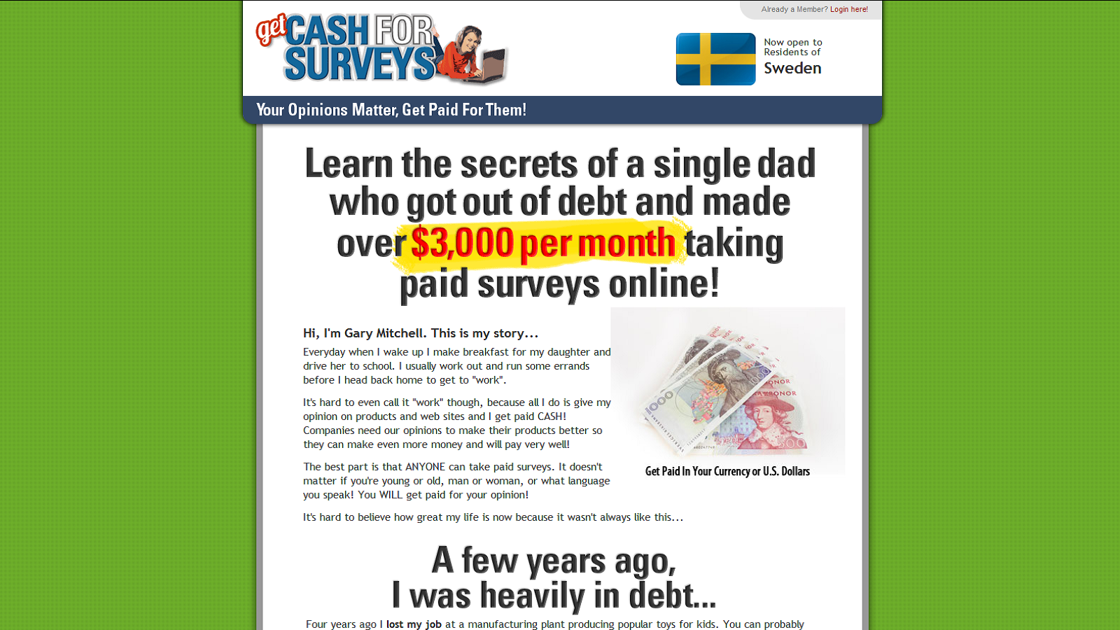 Get Cash For Surveys Online