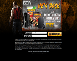 Get Duke Nukem Forever and a Game Console For Free