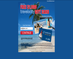 Get a $1000 Travelocity Gift Card For Free