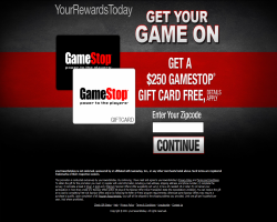 Get a $250 GameStop Gift Card For Free