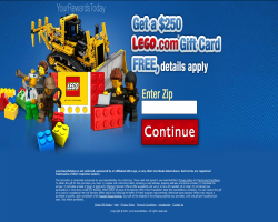 Get a $250 LEGO Gift Card For Free