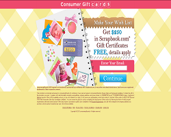 Get a $250 Scrapbook.com Gift Certificate For Free