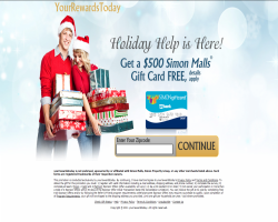 Get a $500 Simon Malls Gift Card For Free