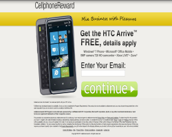 Get a HTC Arrive Windows Phone For Free