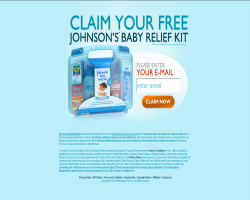 Get a Johnson's Baby Relief Kit For Free