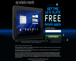 Get a LG G-Slate For Free