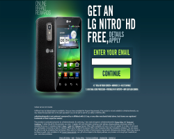 Get an LG Nitro HD For Free
