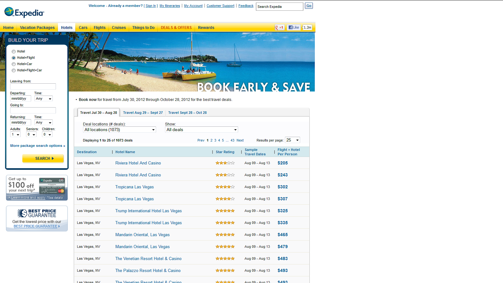 Find Special Deals In Hot Destinations