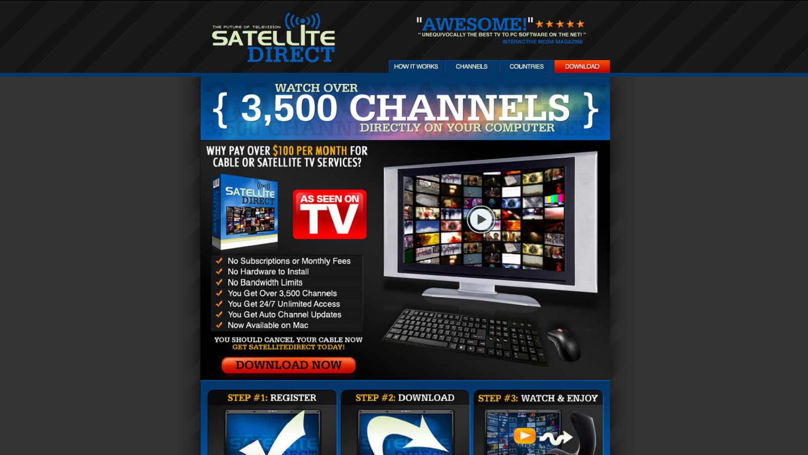 Get Unlimited Access To Over 3,500 TV Channels Online