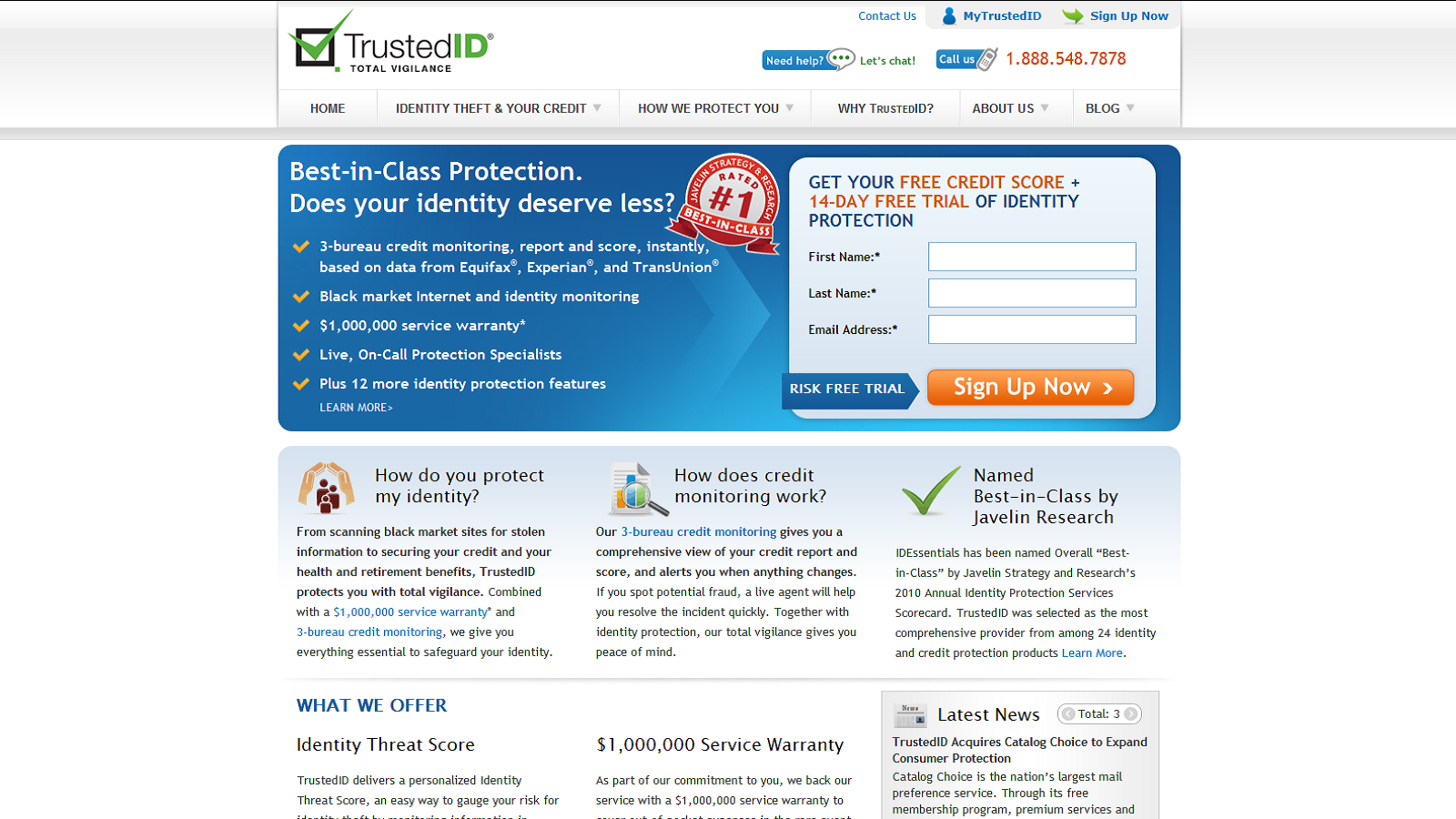 Get Your Credit Score and Try ID Protection For Free