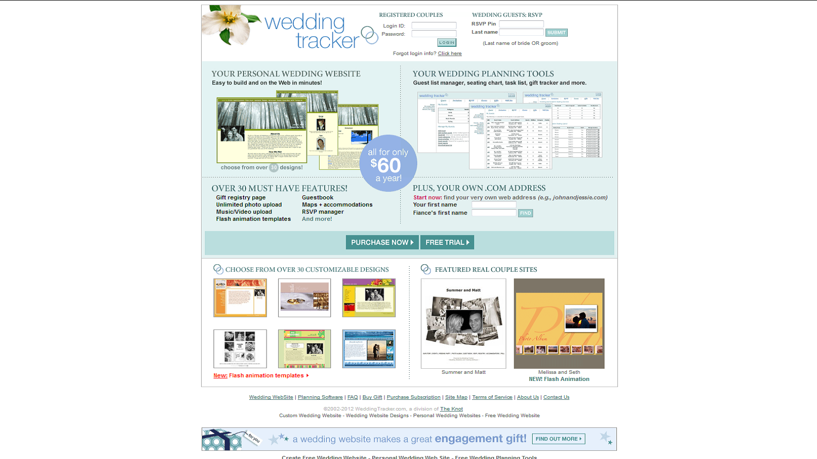 Save On Building a Wedding Website