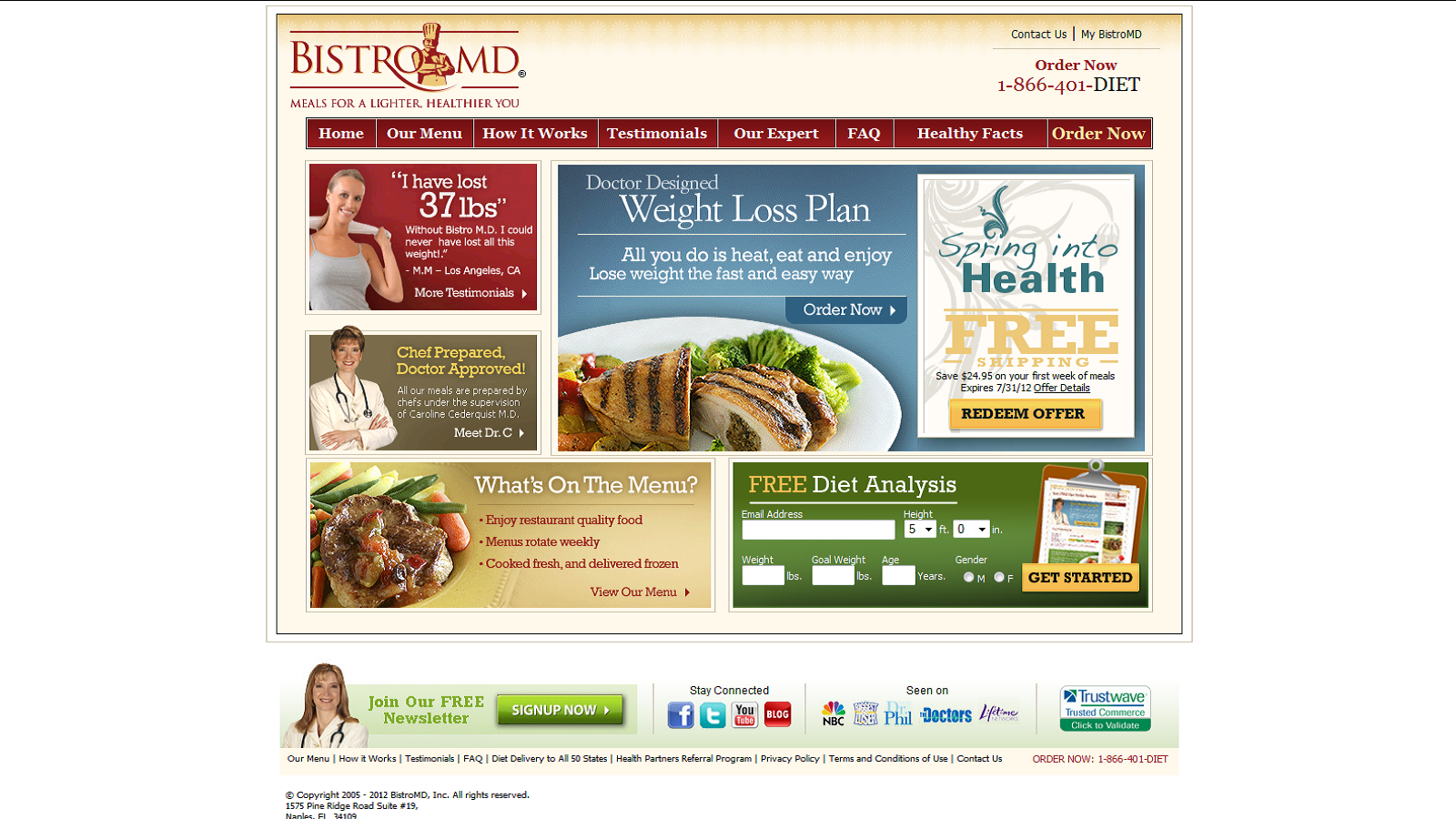Bistro MD Coupons & Promo Codes