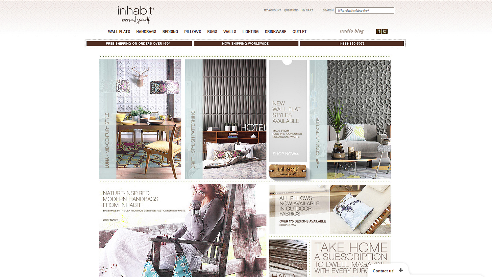 Inhabit Living Coupons & Promo Codes