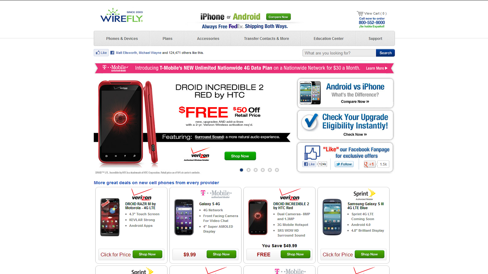 Where To Get Free New Cell Phones From All Major Carriers