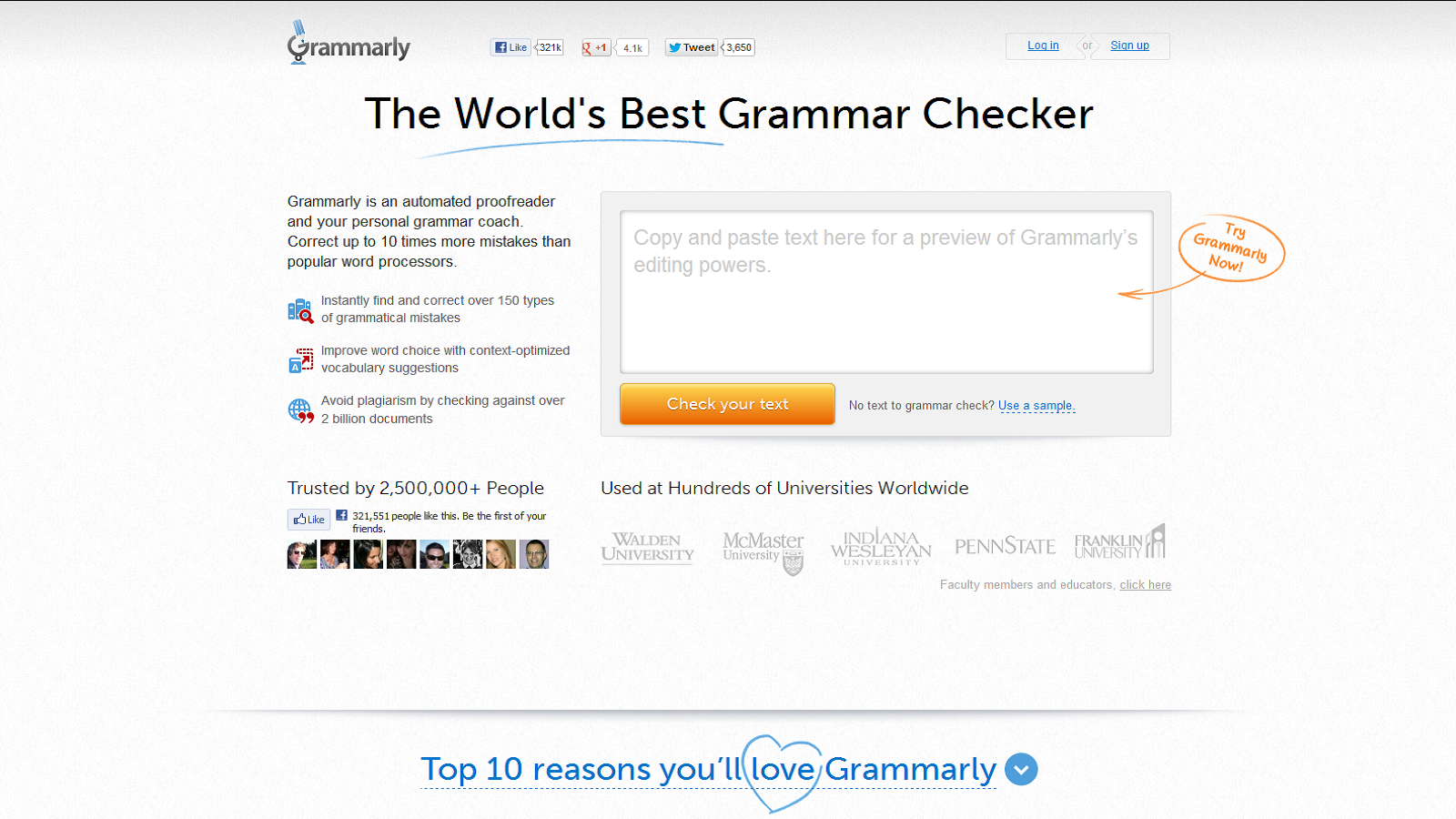 World's Most Accurate Grammar Checker